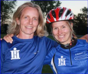 Dorte og Charlotte er nogle af de aktive kvinder i klubben